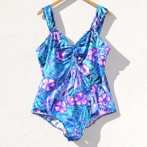 Maxine Of Hollywood Plus Size One Piece Swimsuit
